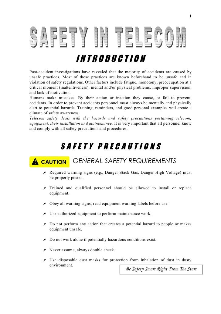 Operational Safety in Telecom