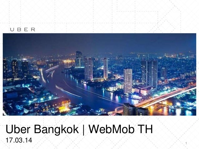 1 Uber Bangkok | WebMob TH 17.03.14