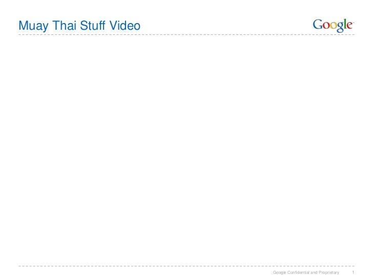 Muay Thai Stuff Video<br />1<br />