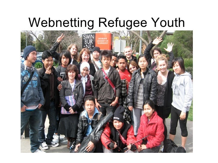 Webnetting refugee youth