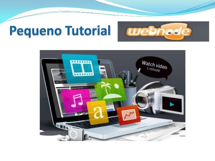 ÍNDICE      1. O que é o   2. Configuração    3.Opções de      4. Trocar o       Webnode;          do Site;          Ediçã...