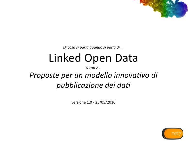 Linked Data e trasparenza dei dati nella Pubblica Amministrazione