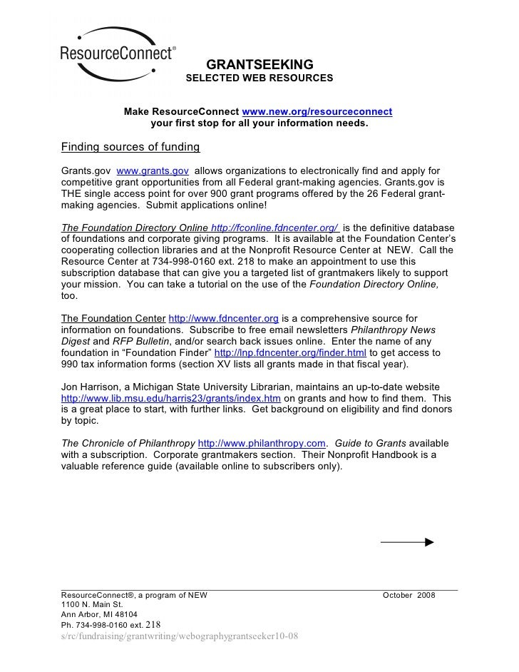 Webography Handout