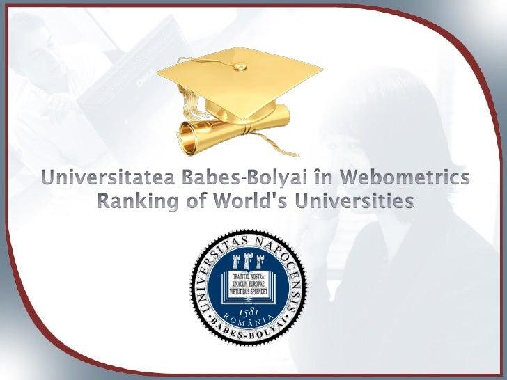 Webometrics Ro