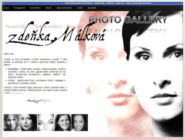 Website of beauty salon