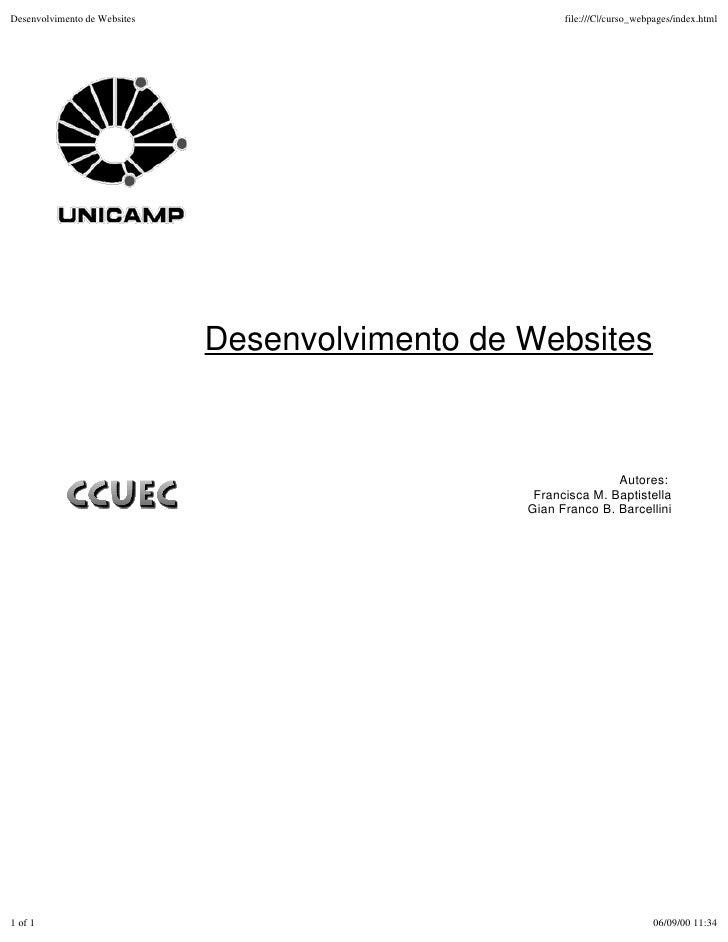 Desenvolvimento de Websites                            file:///C|/curso_webpages/index.html                              D...