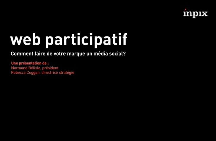 Web participatif