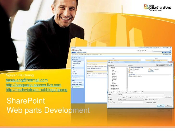 SharePoint Web part programming