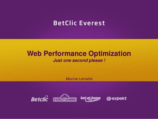 Web Performance Optimization (WPO)