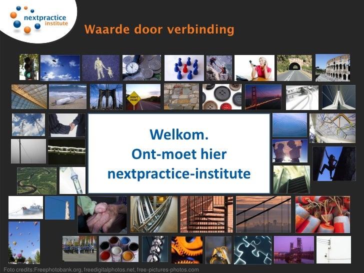 Webpresentatie nextpractice-institute