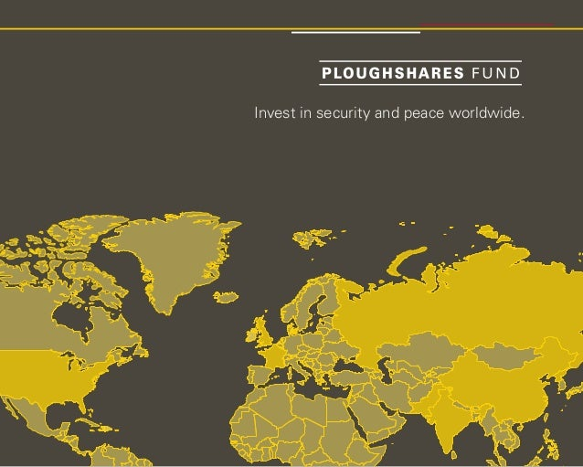 Ploughshares Fund Investment Strategy