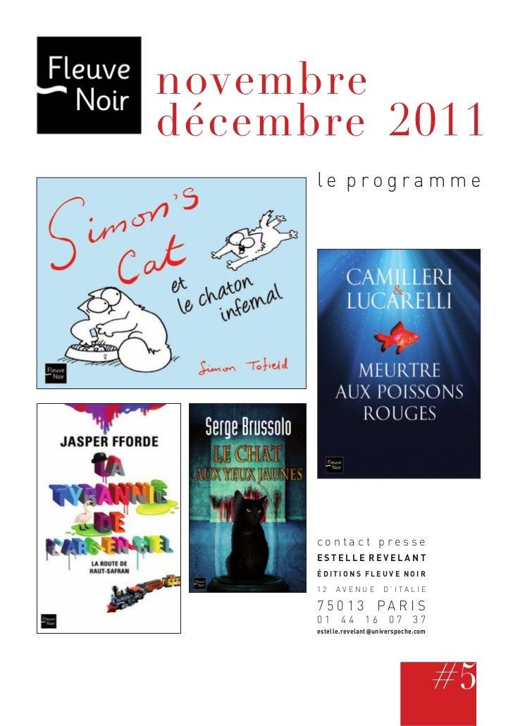 novembredécembre 2011      le programme      contact presse      ESTELLE REVELANT      ÉDITIONS FLEUVE NOIR      12    AVE...