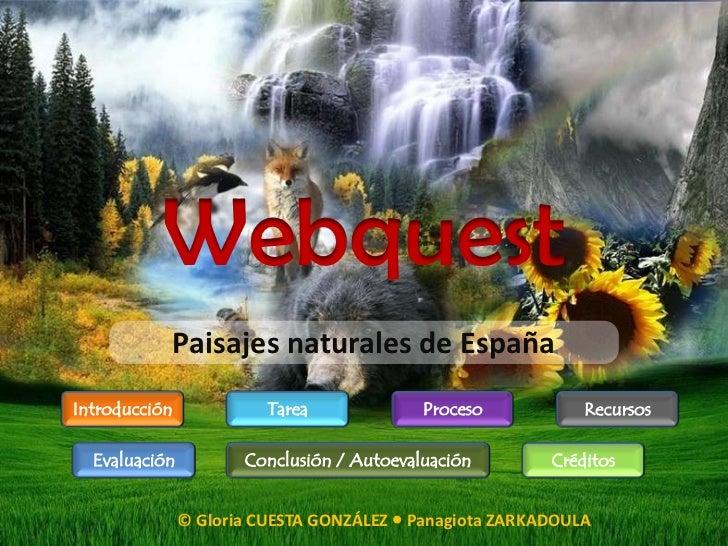 Webquest Naturaleza