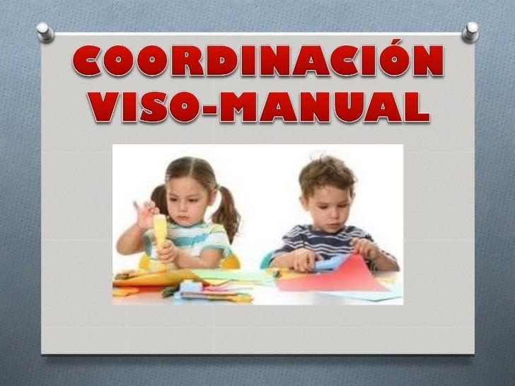 Web quest coordinación viso manual