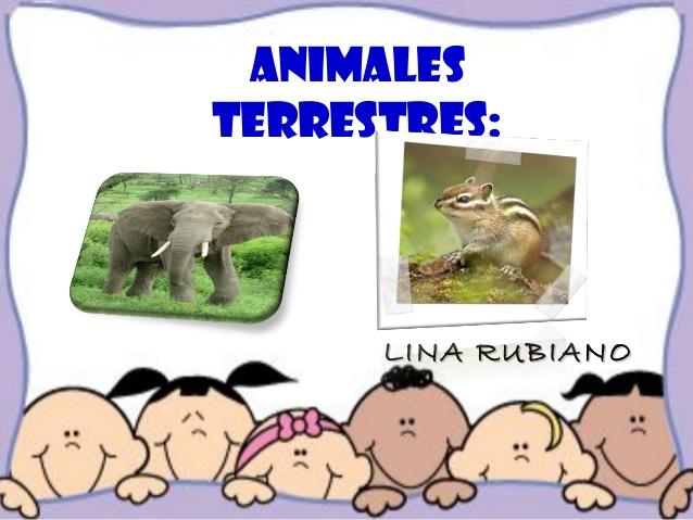 Webquest Animales Terrestres.