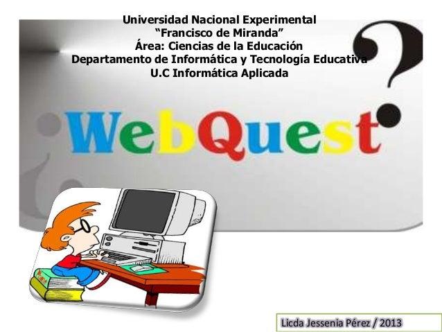 """Universidad Nacional Experimental""""Francisco de Miranda""""Área: Ciencias de la EducaciónDepartamento de Informática y Tecnolo..."""