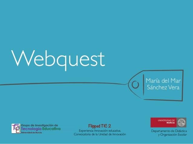 Webquest en la educación