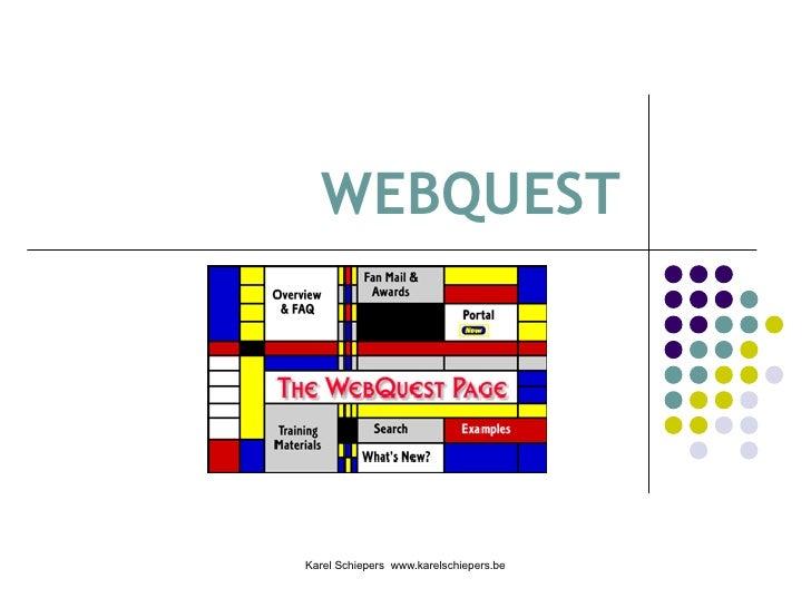 webquest bijscholing