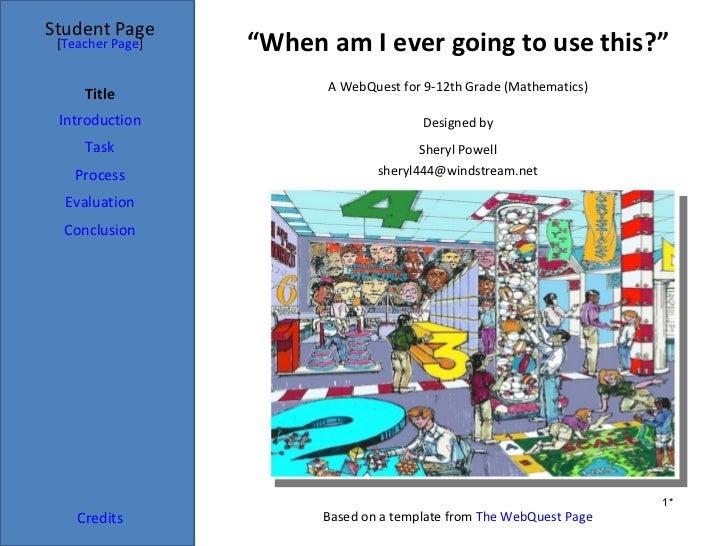 Web quest final