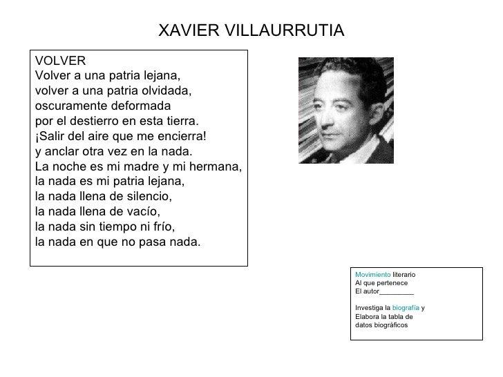 Xavier Villaurrutia aire
