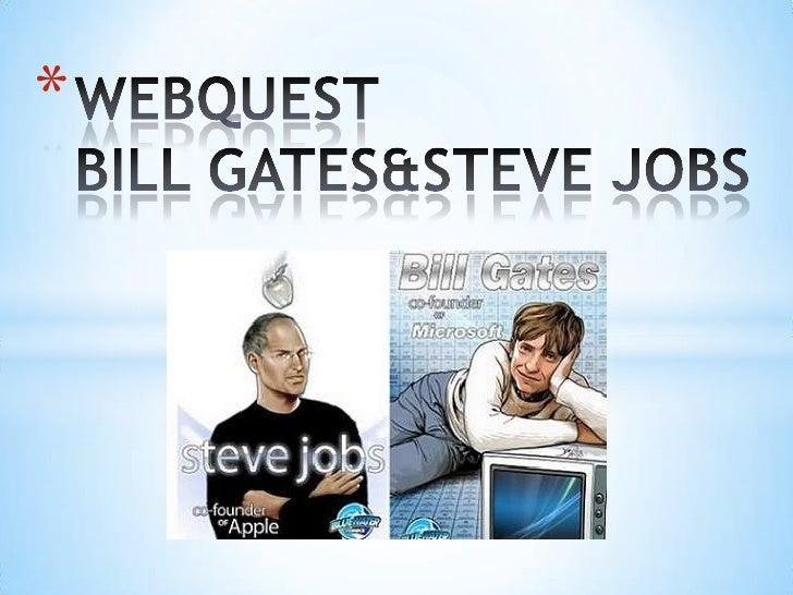 Web quest gates&jobs