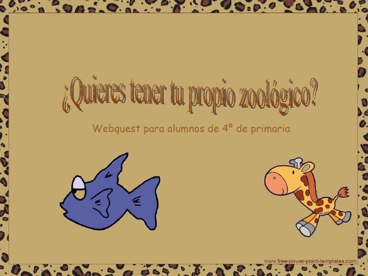 Webquest zoo