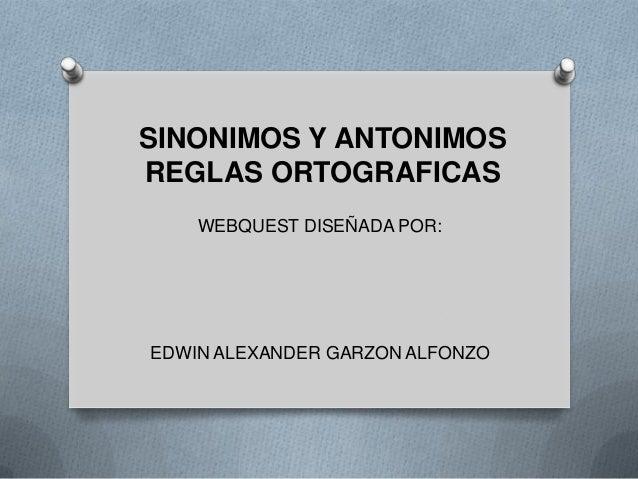 Diccionario De Sinonimos Antonimos Y Paronimos ... - photo#29