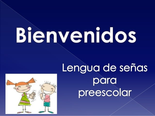 lenguaje de senas para ninos: