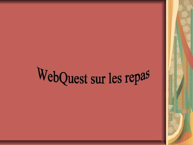 Webqwest sur le_repas (1)