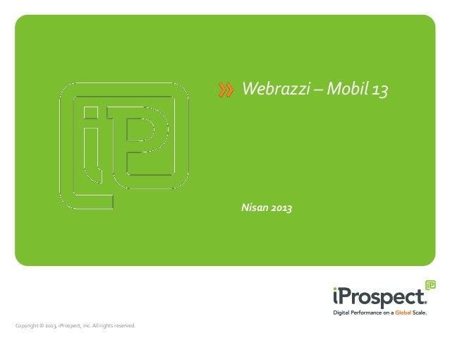 Webrazzi Mobil 2013