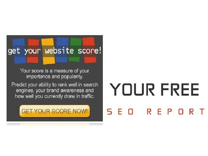 Web Review  A Free Seo Report.
