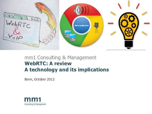 WebRTC: players, business models and implications for telecommunication carriers