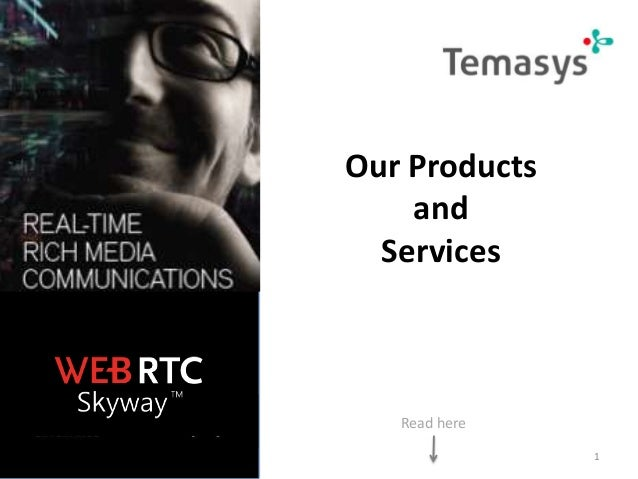 Our Products and Services  Read here 1