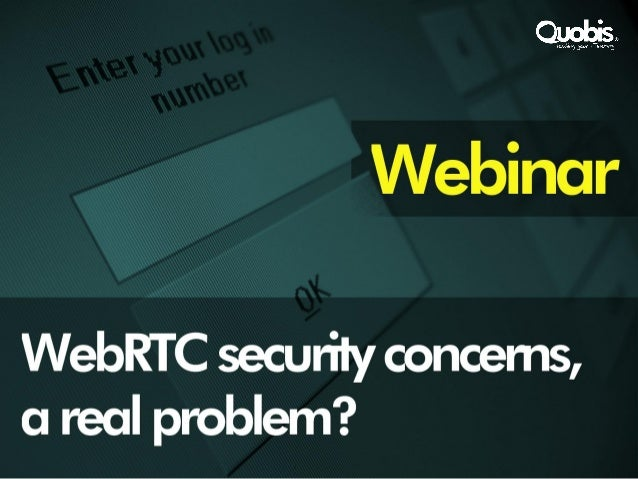 Agenda- WebRTC and security?- VoIP attacks- WebRTC vulnerabilities- Protection- Identity Management- Questions and answers...