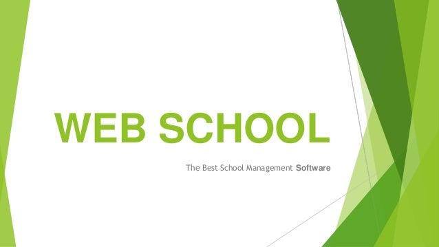 WEB SCHOOL The Best School Management Software