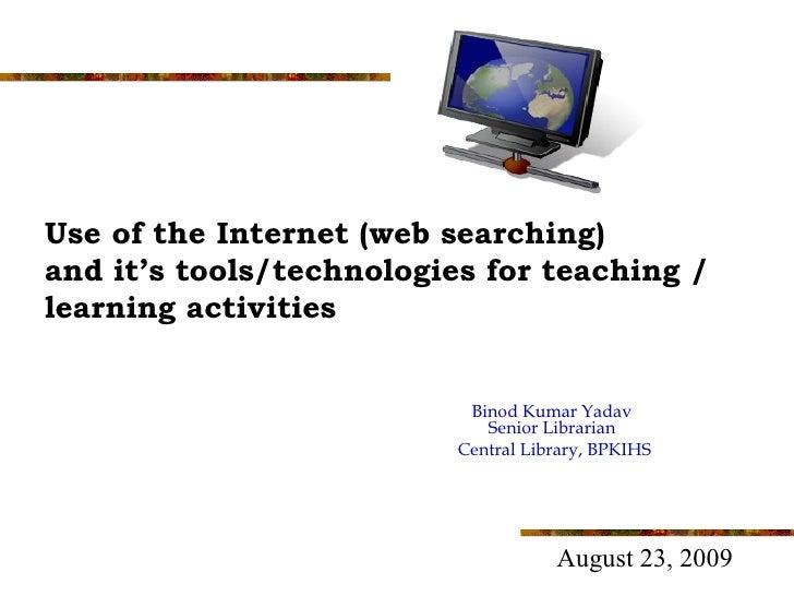 Web searching