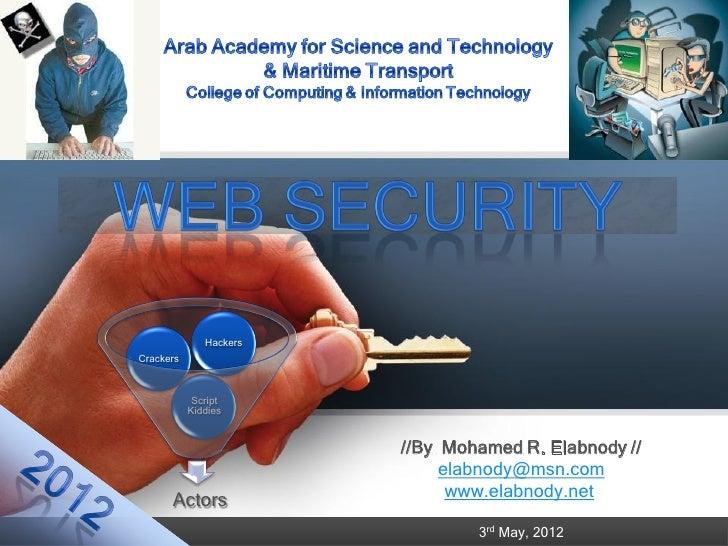 Web security 2012