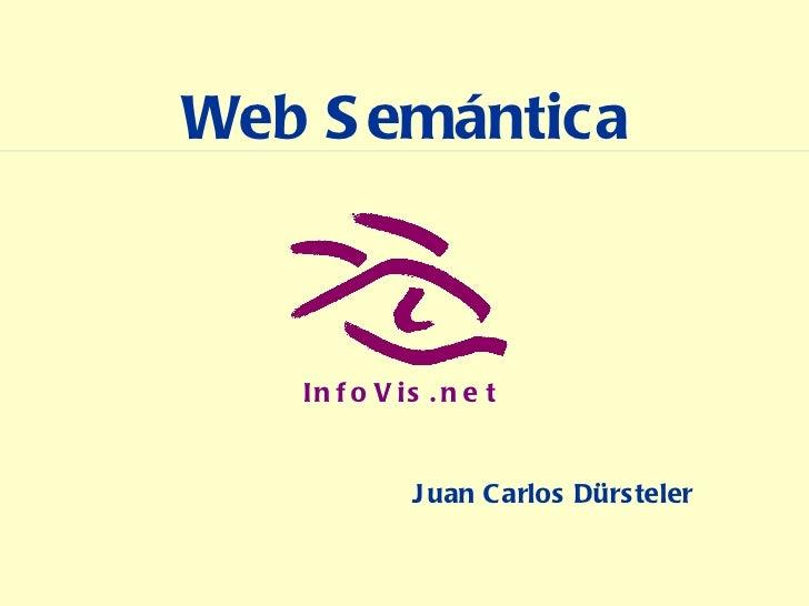Web Semántica Juan Carlos Dürsteler