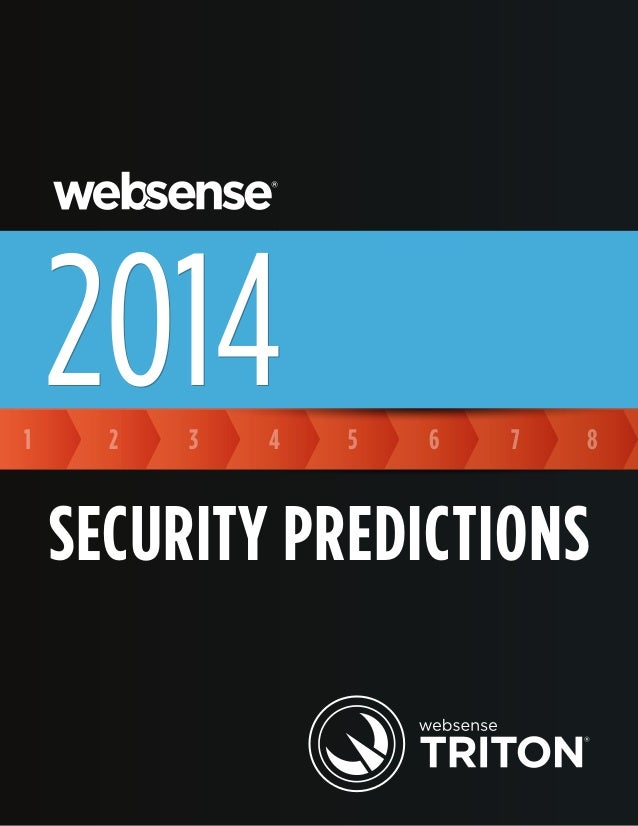 Websense   security prediction 2014
