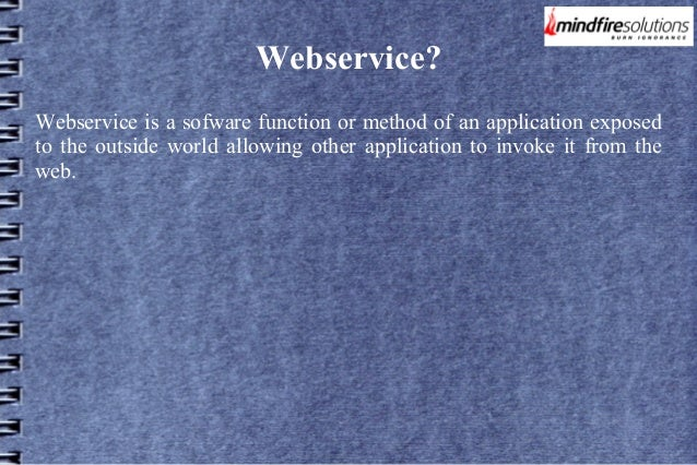 Thesis web service