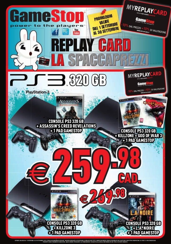 Volantone GameStop Settembre 2012