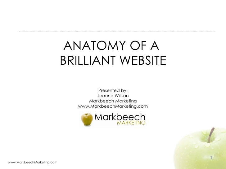 Anatomy of a Brilliant Website