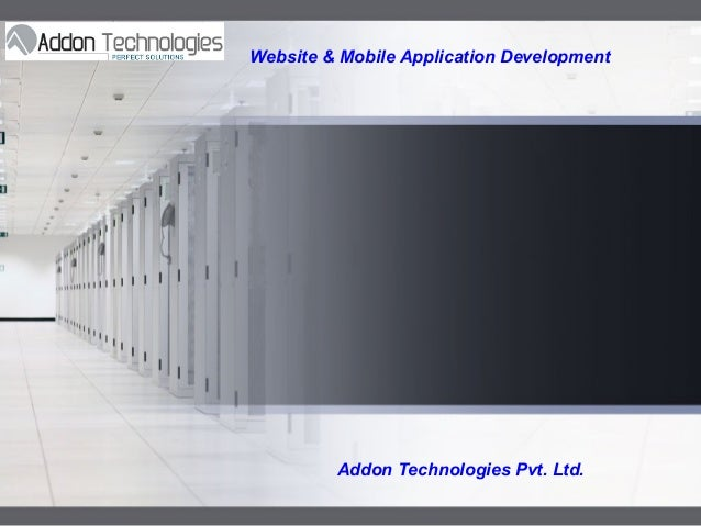 LOGO  Website & Mobile Application Development  Addon Technologies Pvt. Ltd.