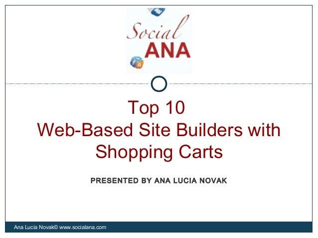 Website builder-slides