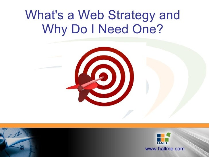 What's a Web Strategy and Why Do I Need One?