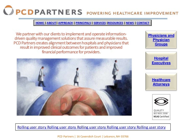 HOME | ABOUT| APPROACH | PRINCIPALS | SERVICES |RESOURCES | NEWS | CONTACT We partner with our clients to implement and op...