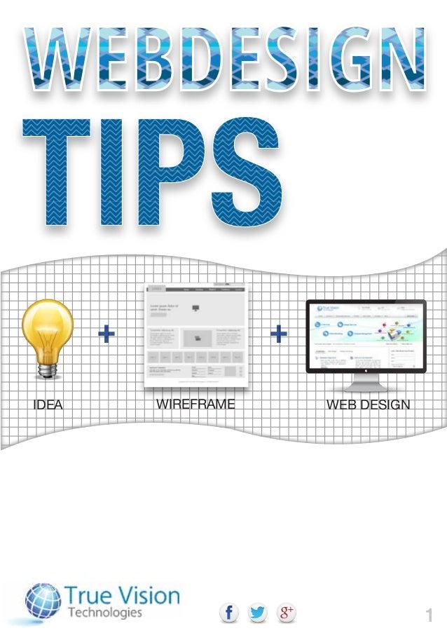 An eBook on Website Design and Development Tips