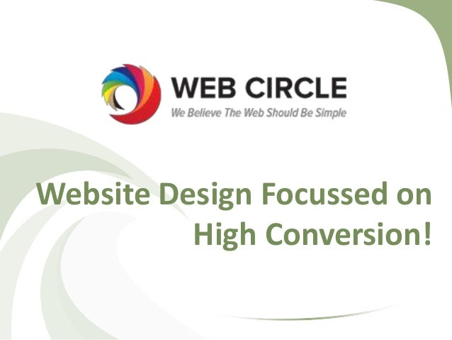 Website design focussed on high conversion!