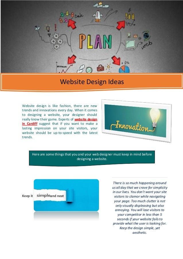 Website design ideas for Sites ideas