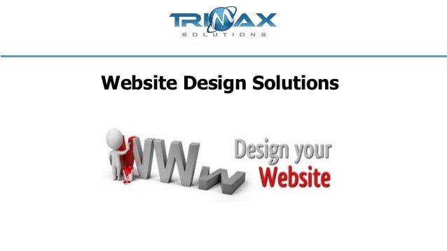 Website design solutions
